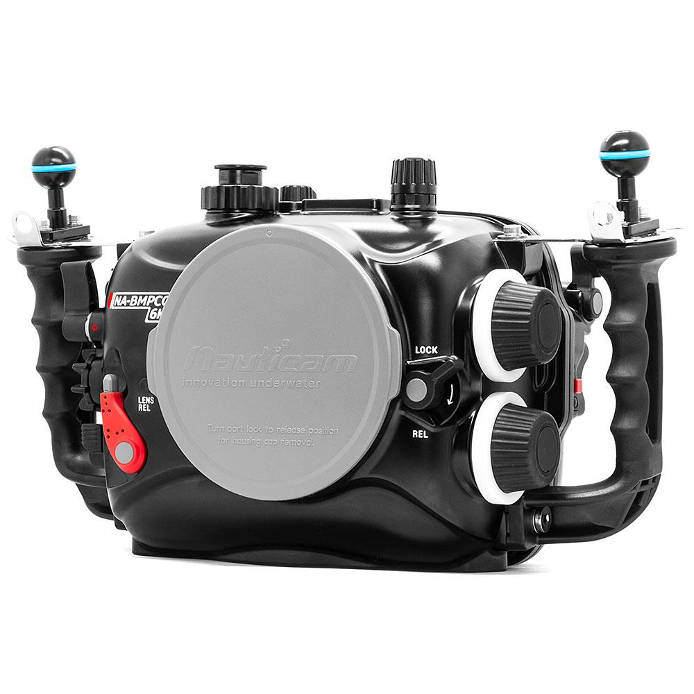 Navitech Waterproof Underwater Housing Camera Dry Bag Case Compatible with The Blackmagic Design Pocket Cinema Camera 4K