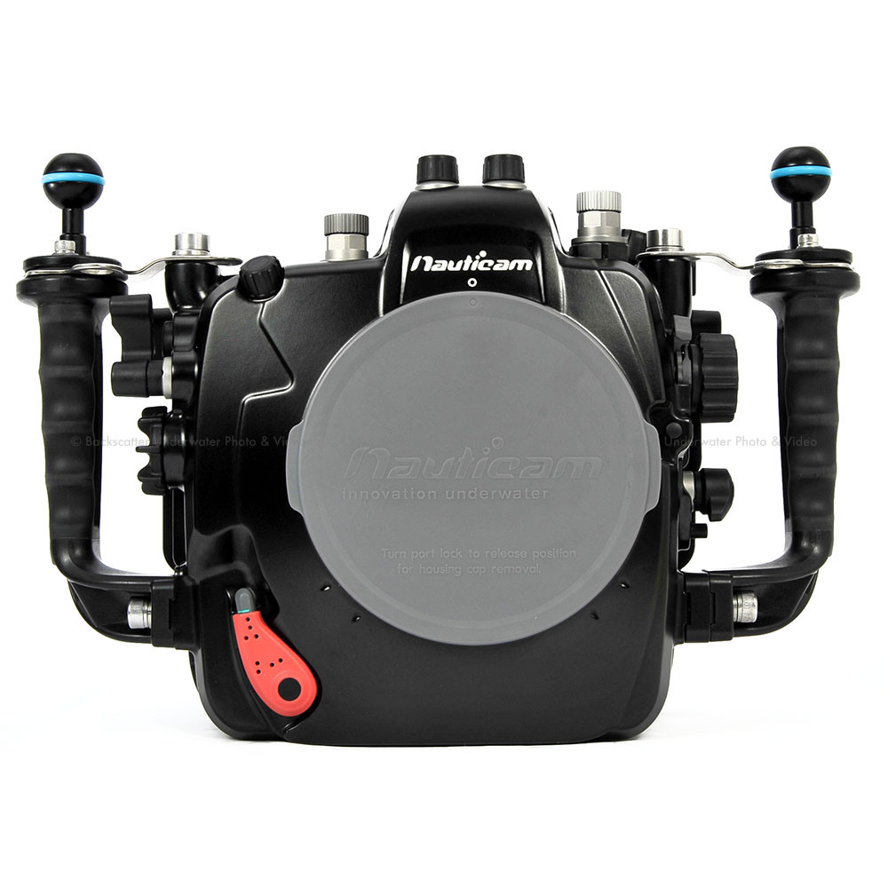Nauticam NA-D4s Underwater Housing for Nikon D4 & D4S with Dual Nikonos Bulkheads