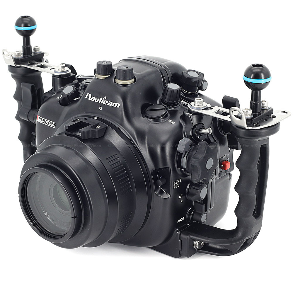 Nauticam NA-D7500 Underwater Housing for Nikon D7500 DSLR Camera