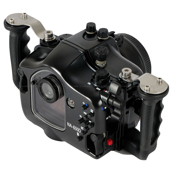 Nauticam NA-600D Underwater Housing for the Canon T3i/600D