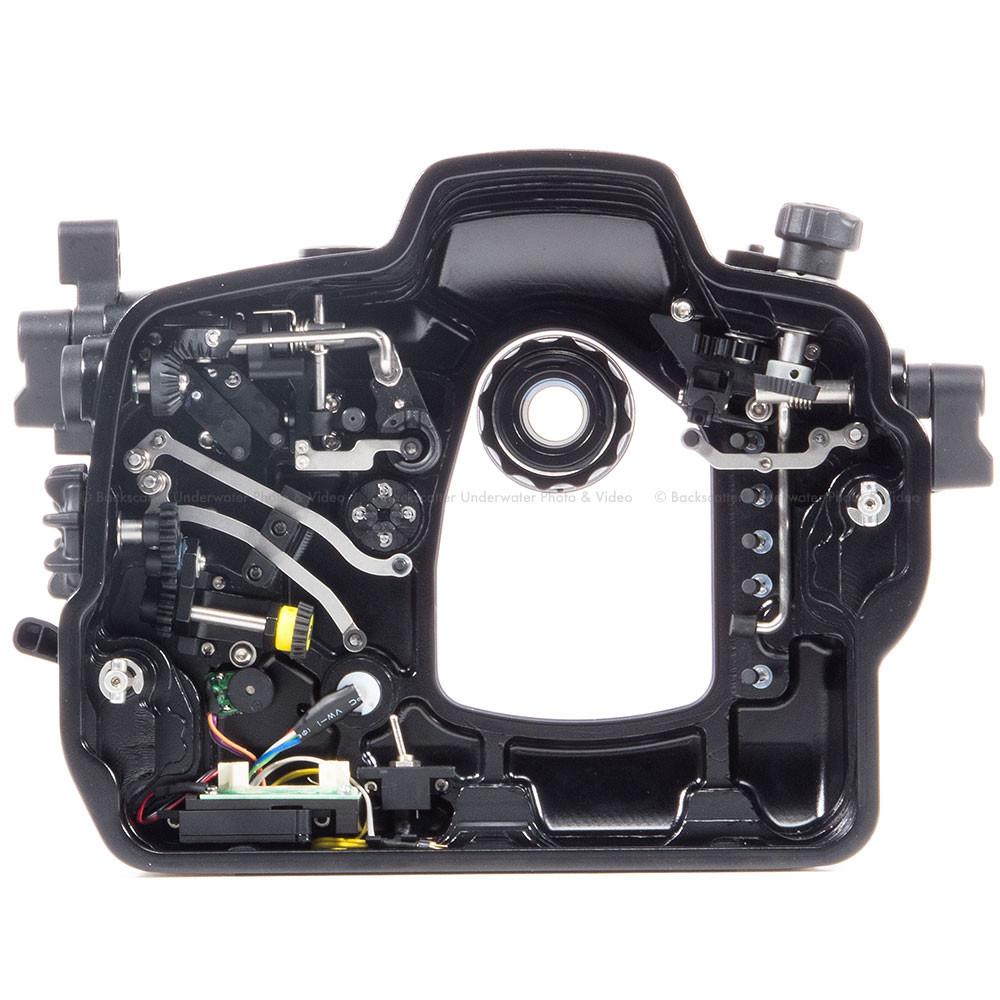Nauticam NA-5DMKIII V 2 Underwater Housing for Canon EOS5D Mark III, 5DS &  5DS R DSLR Cameras with Dual Nikonos Bulkheads