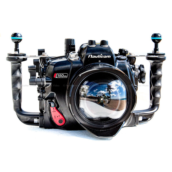 Nauticam NA-5DMKIII Deep Underwater Deeper Depth Rates Housing for Canon 5D Mark III, 5DS & 5DS R DSLR Cameras with Dual Nikonos Bulkheads