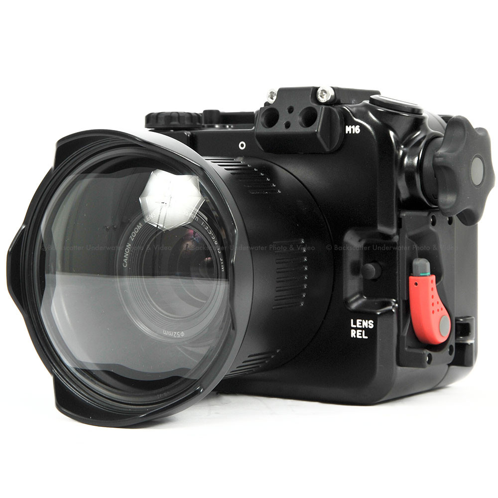 Nauticam NA-EOSM3 Underwater Housing for Canon EOS M3 Mirrorless Camera