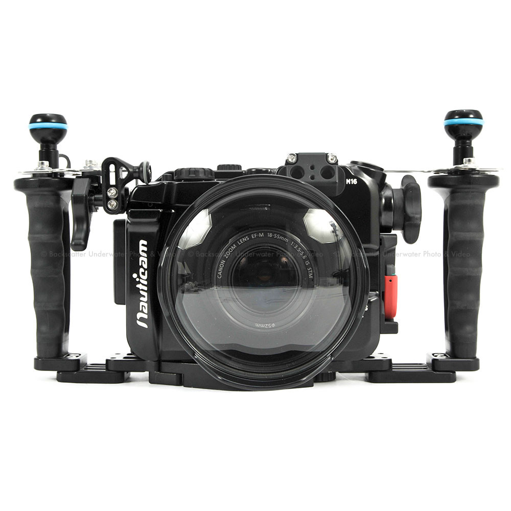 Nauticam na eosm underwater housing for canon eos m mirrorless camera - Nauticam Na Eosm3 Underwater Housing For Canon Eos M3