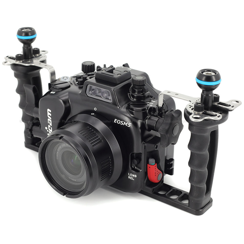 Nauticam NA-EOSM5 Underwater Housing for Canon EOS M5 Mirrorless Camera