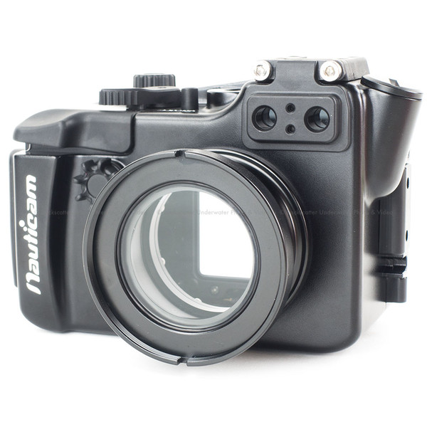 Nauticam NA-RX100IIV Underwater Video Housing for Sony RX100 Mk II Camera