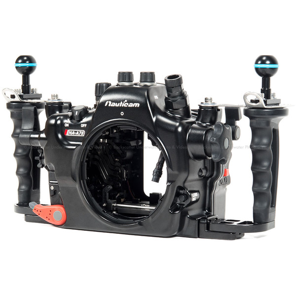 Nauticam NA-A7II Underwater Housing with No Bulkheads for Sony a7 II Full Frame Mirrorless Camera