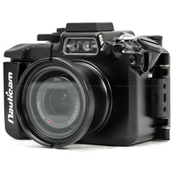 Nauticam NA-RX100IV Underwater Housing for Sony RX100 Mk IV Compact 4K Camera