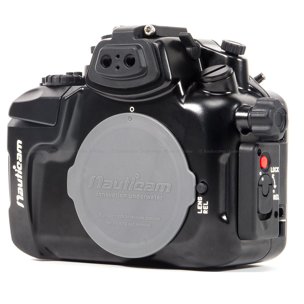 Nauticam GH3 housing for Panasonic GH3 is fully compatible with Lumix GH4 by upgrading the mode dial of the housing