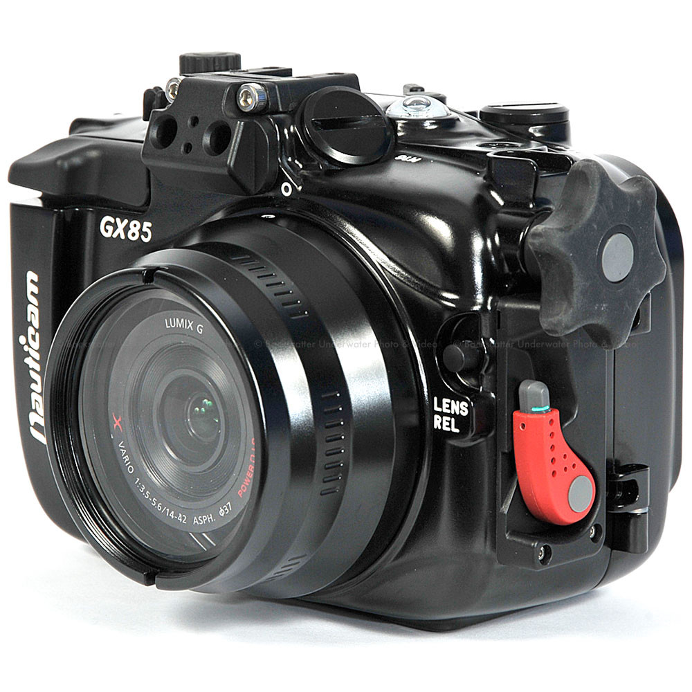 Nauticam NA-GX85 Underwater Housing for Panasonic Lumix DMC-GX85, DMC-GX80, DMC-GX7II Cameras