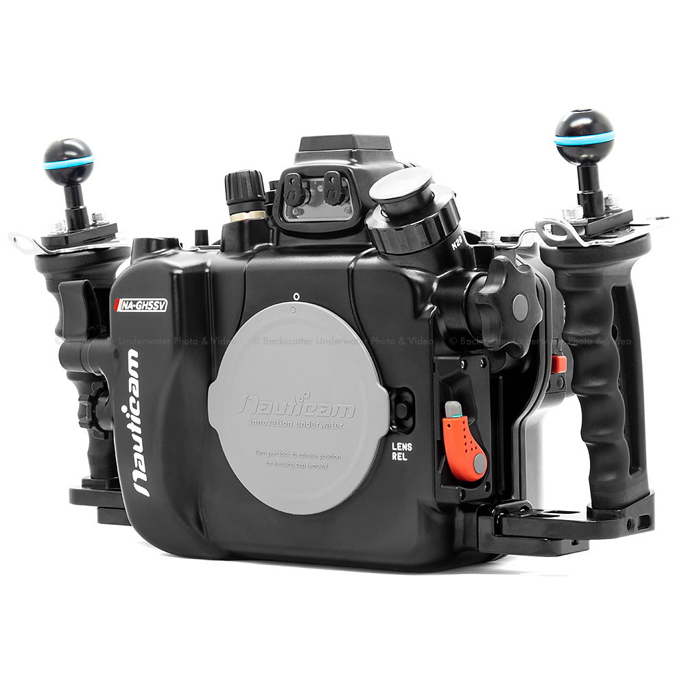 Nauticam Panasonic GH5 & GH5s Underwater Video Housing NA-GH5SV