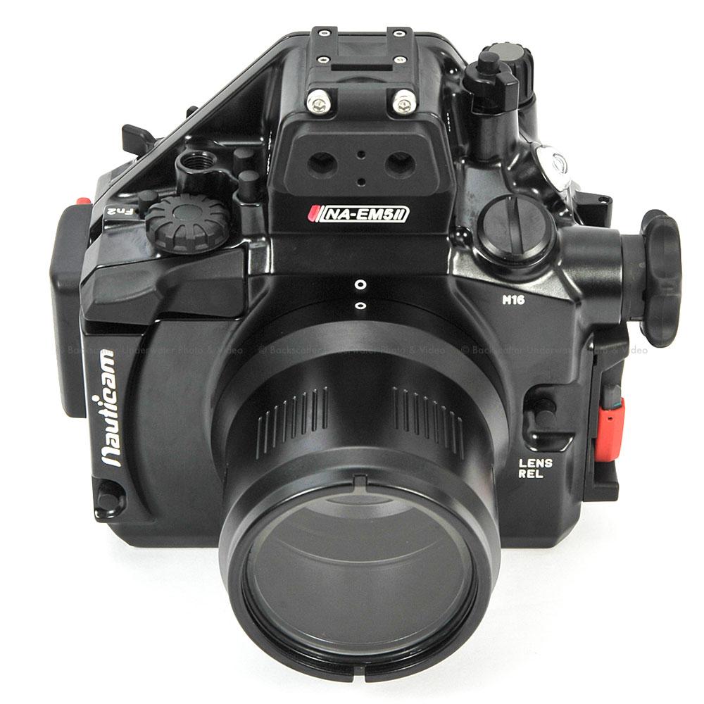 Nauticam Na Em5ii Underwater Housing For Olympus Om D E M5 Mkii Mark Ii Kit Ed 12 40mm F 28 Pro Mirrorless Prev Next