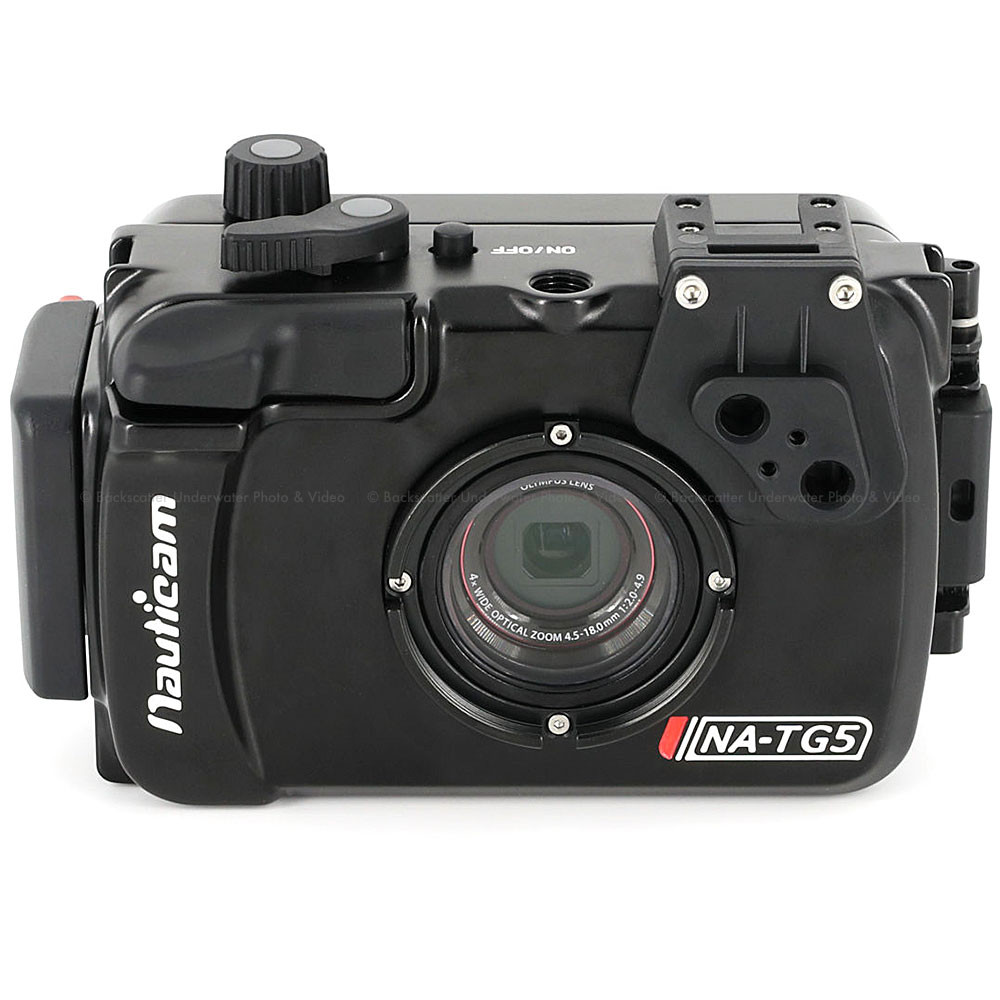 Nauticam NA-TG5 Underwater Housing for Olympus Tough TG-5 Waterproof Camera