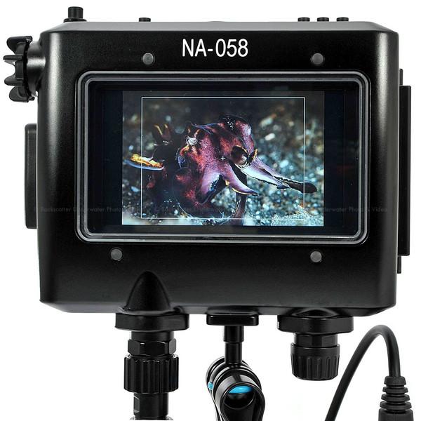 Nauticam NA-058 Underwater Housing for TV Logic VFM-058W 5.5inch Full HD Monitor