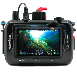 Nauticam NA-SHOGUN Underwater Housing for Atomos Shogun & Ninja Assassin 10-Bit 4K SDI/HDMI External Recorder and 7 inch Monitor