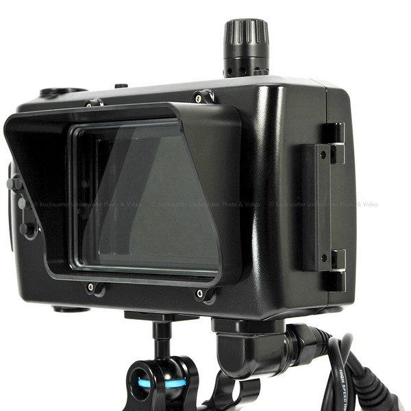 Nauticam NA-502S Underwater Housing for SmallHD 502 Monitor (HD-SDI)