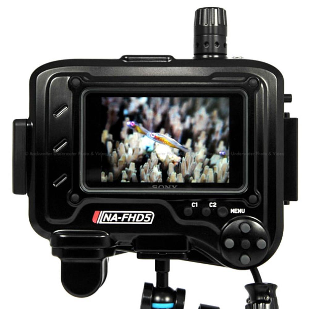 Nauticam NA-FHD5 Underwater Housing for Sony CLM-FHD5 Full HD Monitor (HDMI)
