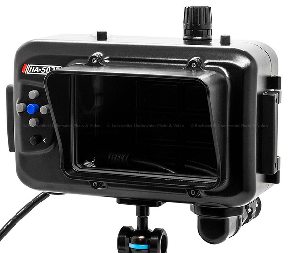 Nauticam SmallHD 502 Bright Monitor Underwater Housing NA-502B-H (HDMI)