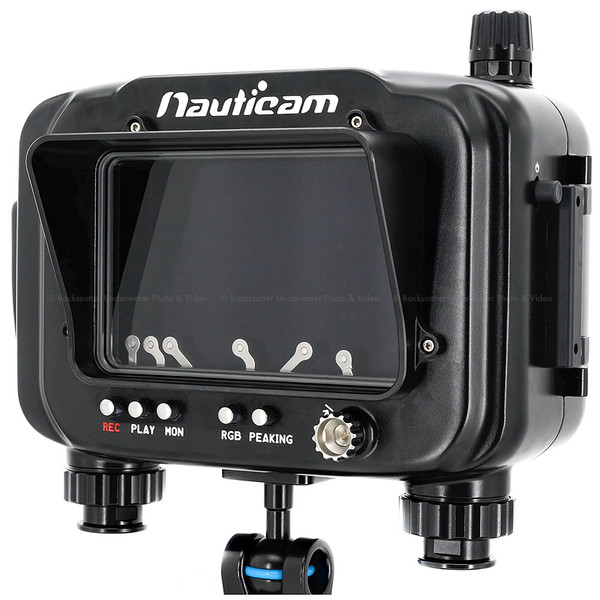 Nauticam Atomos Ninja V Underwater Housing for Atomos Ninja V 5-inch 4Kp60 4:4:2 10-bit Recorder, Monitor & Player