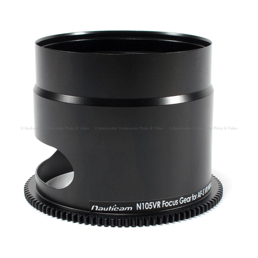 Nauticam N105VR-F Focus Gear: Nikon AF-S 105mm VR f/2 8