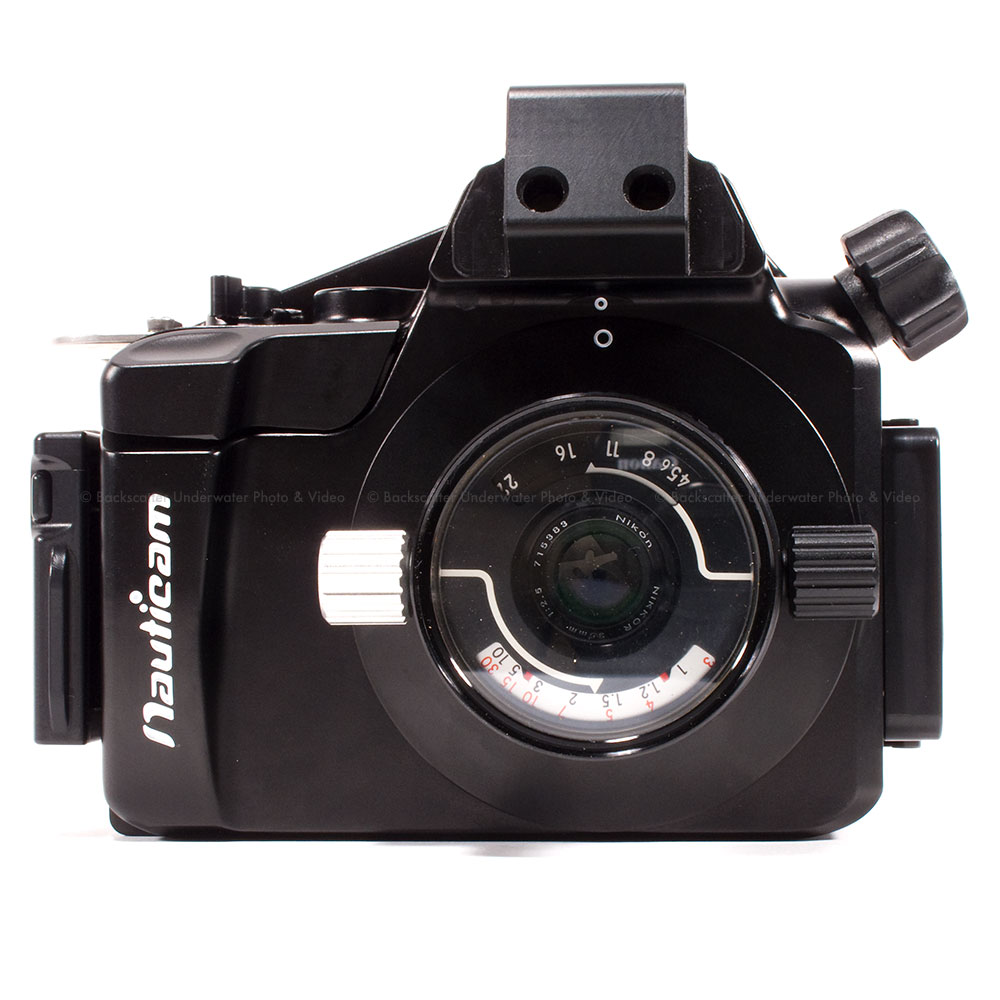 Nauticam NEX5 Underwater Housing for Sony NEX-5 Compatible with Nikonos Lenses