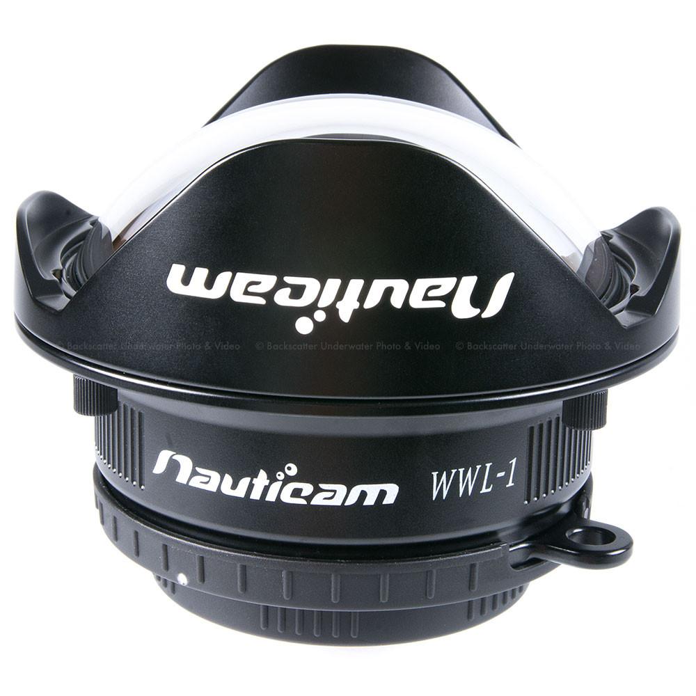 Nauticam WWL-1 Wet Wide Lens 130° 67mm Wetmate lens