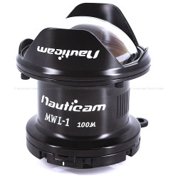 Nauticam MWL-1 Macro to Wide Angle Lens 1 150° FOV with Full Frame 60mm Macro Lens