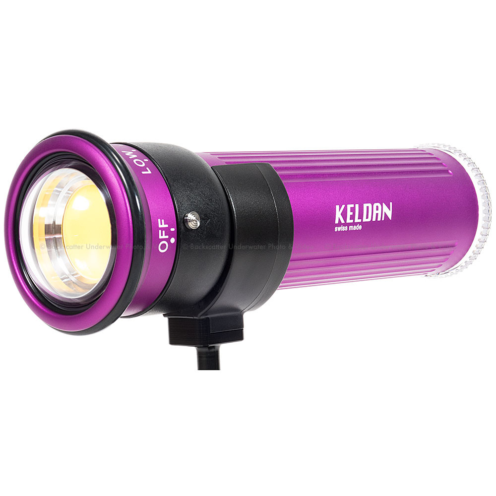 Keldan Video 8X CRI 13,000 Lumen Underwater Video Light