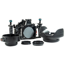 USED Nauticam NA-XT1 Housing, Dome, Extension & 10-24 Gear Package