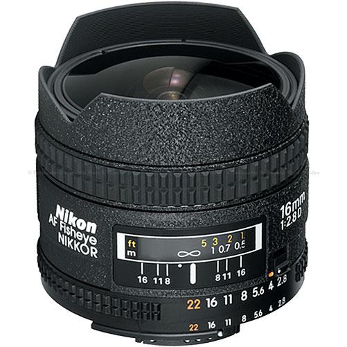 Nikon 16mm f2.8D AF Nikkor Fish-Eye (Bayonet)