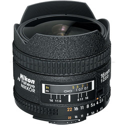 Nikon 16mm f2.8D AF Nikkor Fish-Eye (Bayonet)