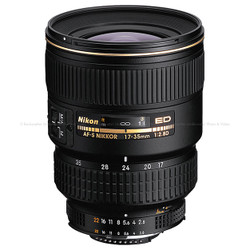 Nikon AF-S Zoom-Nikkor 17-35mm f/2.8D IF-ED Zoom Lens