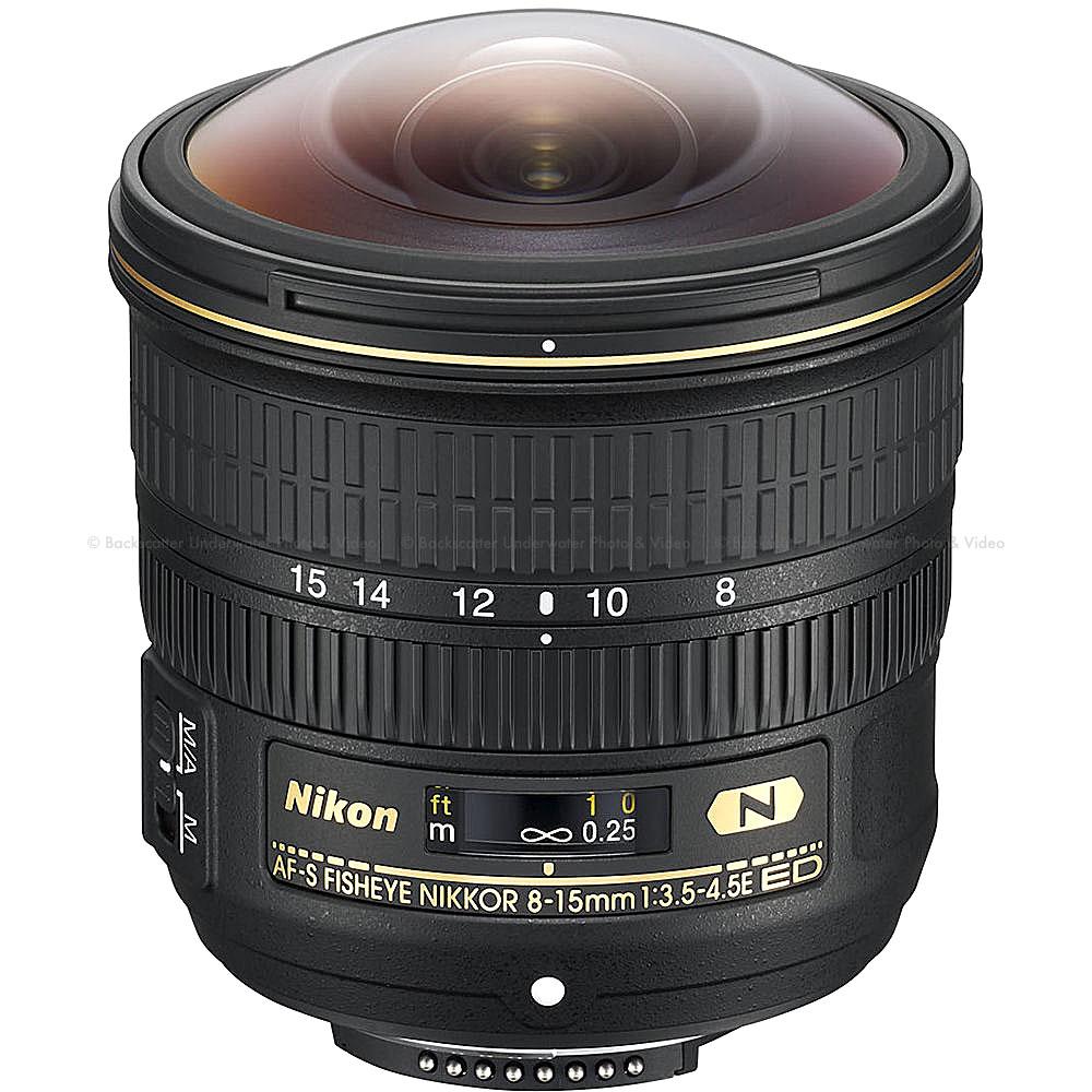 Nikon AF-S 8-15mm f/3.5-4.5E ED Fisheye NIKKOR Lens