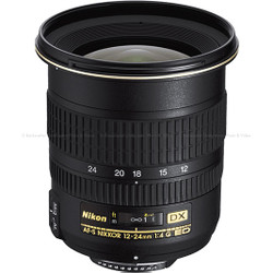 Nikon 12-24mm f4G ED-AF Digital Zoom Nikkor Lens for Nikon Digital Cameras
