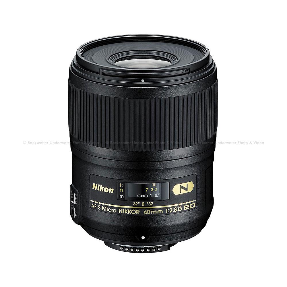 Nikon AF-S Micro-NIKKOR 60mm f/2.8G ED Macro Lens