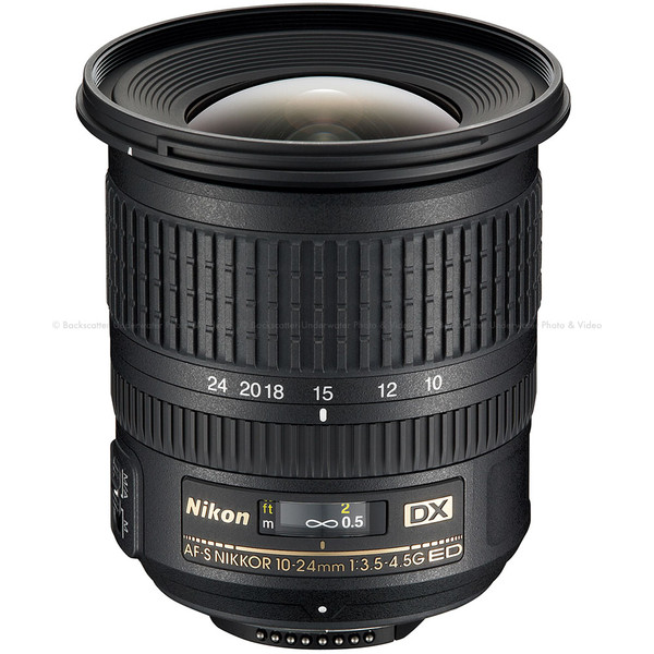 Nikon AF-S DX NIKKOR 10-24mm f/3.5-4.5G ED Wide Zoom Lens