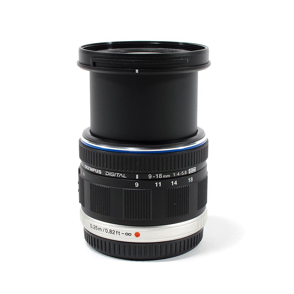 Olympus M Zuiko ED 9 18mm F 40 56 Lens