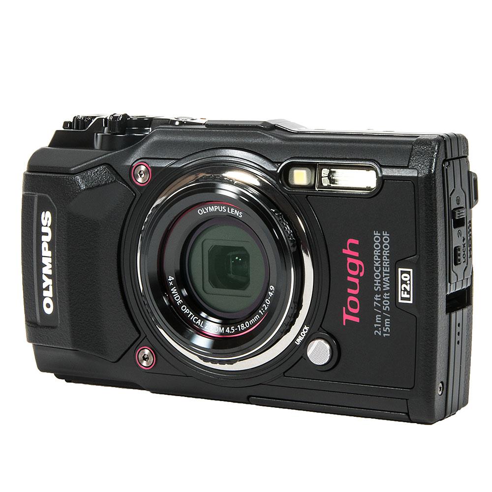 Olympus Tough TG 5 Waterproof pact Camera Backscatter