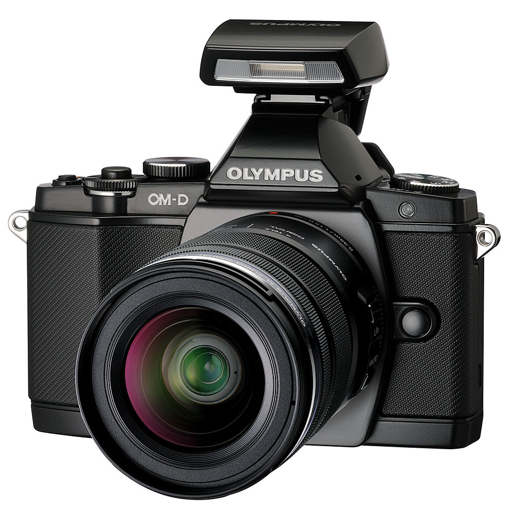 Olympus om d e m5 camera with 12 50mm f3 5 5 6 power zoom lens for M5s camera