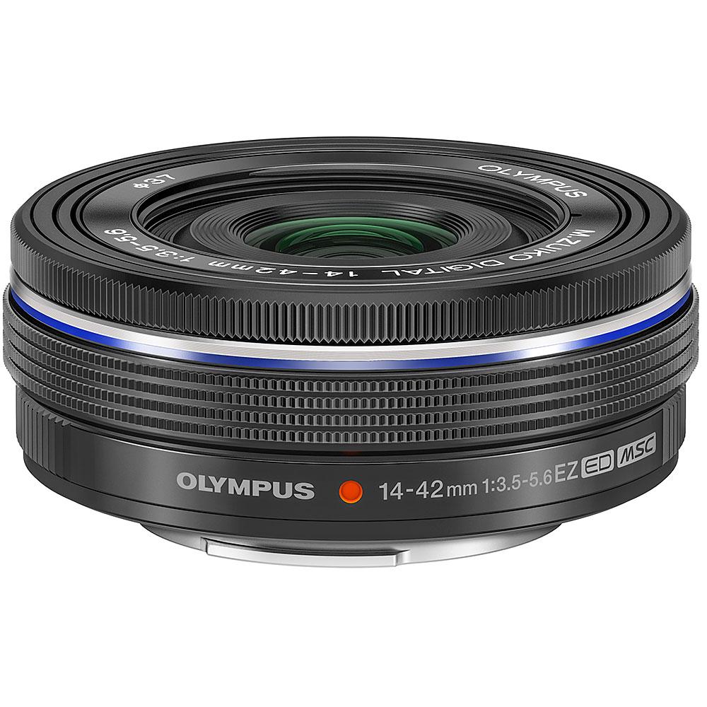 Gadget Place 37mm Black Metal Lens Hood Cap for Olympus M.Zuiko Digital ED 14-42mm F3.5-5.6 EZ Lens