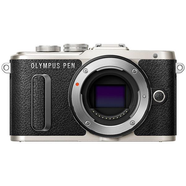 Olympus PEN E-PL8 Mirrorless Camera - Black Body