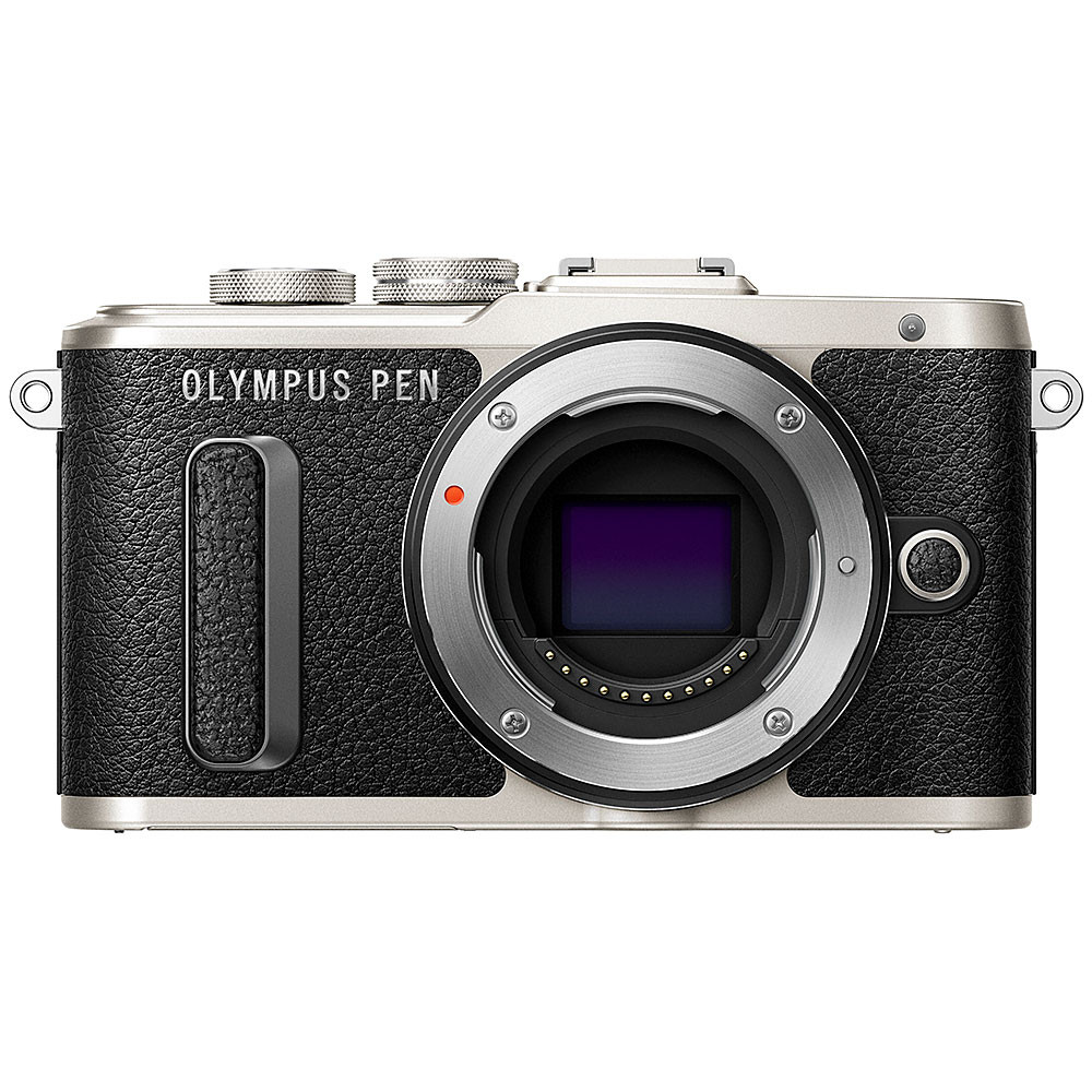 Olympus PEN E-PL8 Mirrorless Camera - Black Body