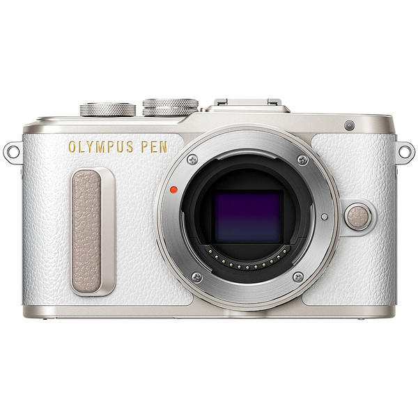 Olympus PEN E-PL8 Mirrorless Camera - White Body