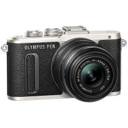 Olympus PEN E-PL8 Mirrorless Camera with 14-42mm II R Lens - Black