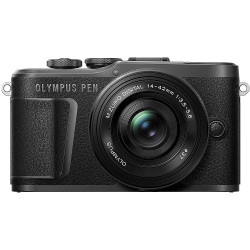 Olympus PEN E-PL10 Mirrorless Camera & Olympus ED M. 14-42mm f/3.5-5.6 EZ Lens