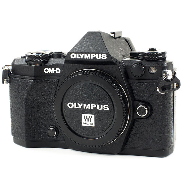 Olympus OM-D E-M5 Mark II Mirrorless Camera Black Body