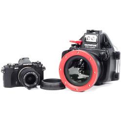 Olympus OM-D E-M5 II Camera, 9-18mm Lens, Zoom Gear & PT-EP13 Underwater Housing