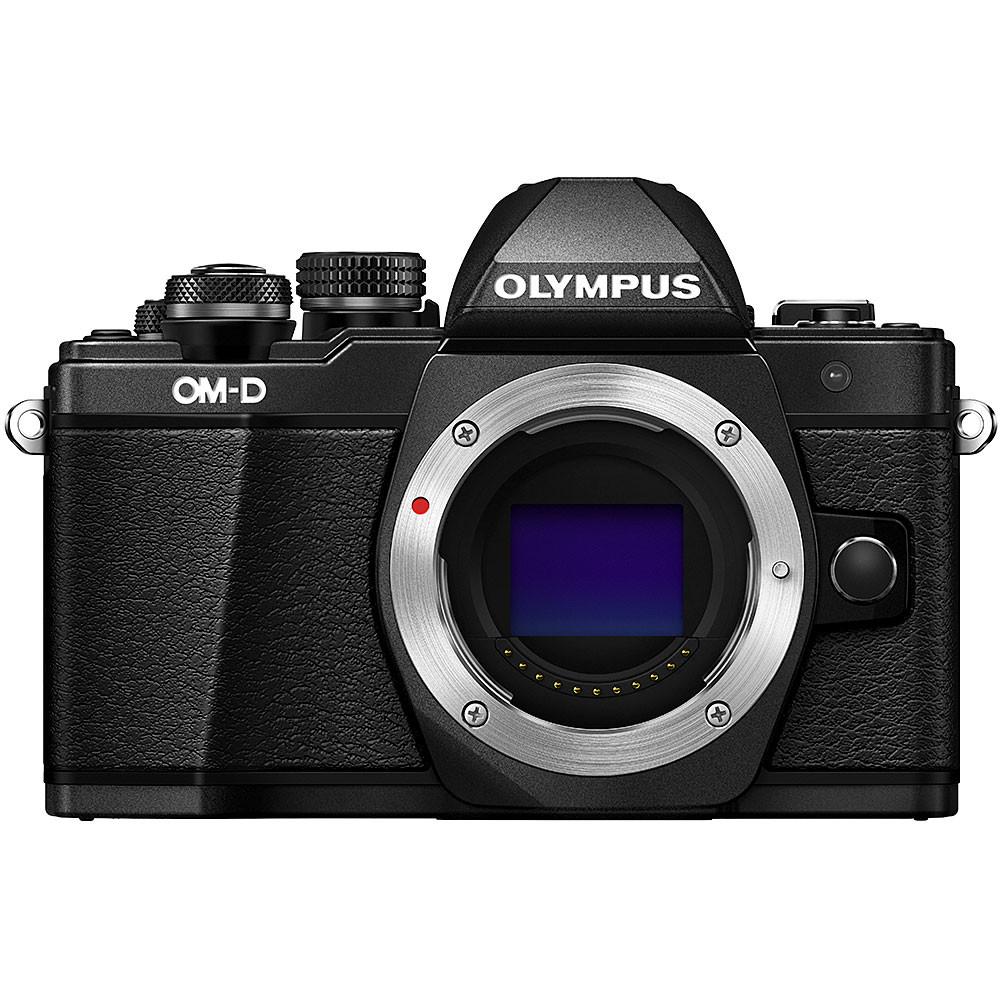 Olympus OM-D E-M10 Mark II Mirrorless Black Camera Body