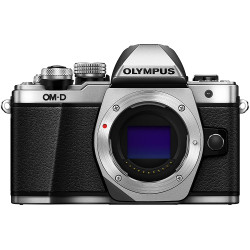 Olympus OM-D E-M10 Mark II Mirrorless Silver Camera Body