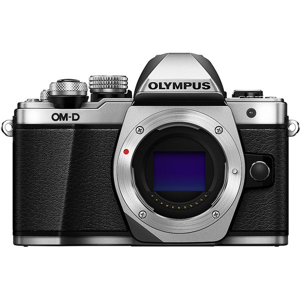 Olympus OM-D E-M10 Mark II Mirrorless Silver Camera Body